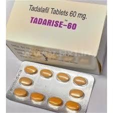 Generic Cialis (Tadalafil) Tadarise 60 MG