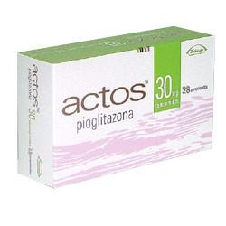 Generic Actos (pioglitazone) 30 MG