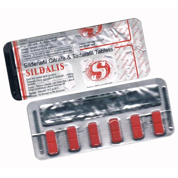 Sildalis (Sildenafil + Tadalafil) 120mg