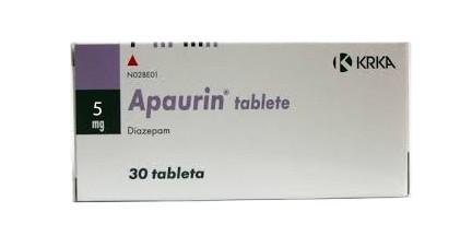 Apaurin Diazepam 5 mg
