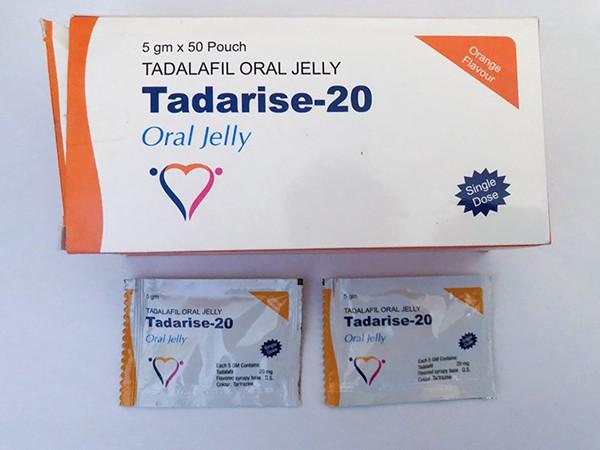 Cialis Tadalafil Oral gelée 20 mg strips