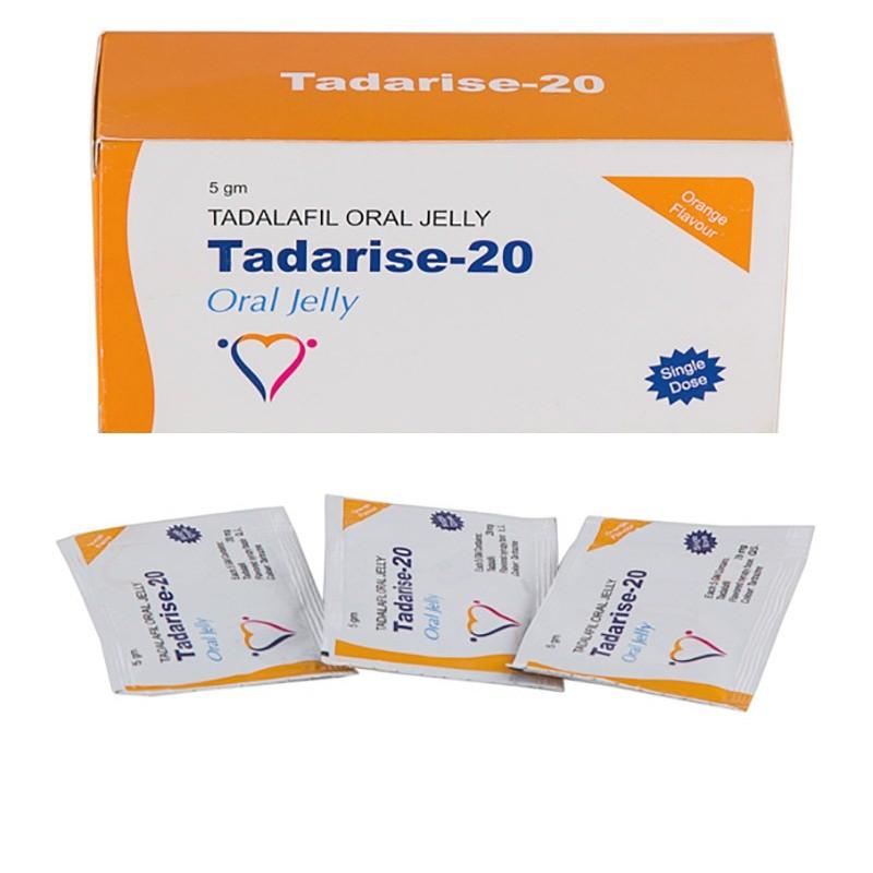 Tadarise 20 mg oral jelly