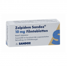 Zolpidem 10mg by Sandoz N