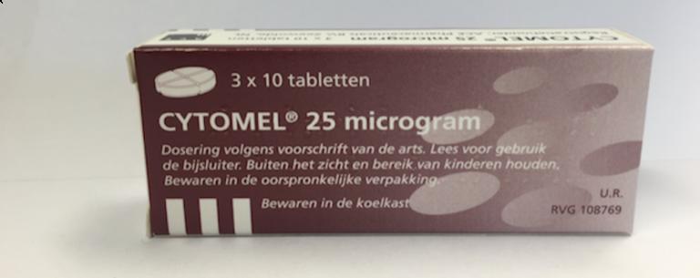 Cytomel 25mcg N