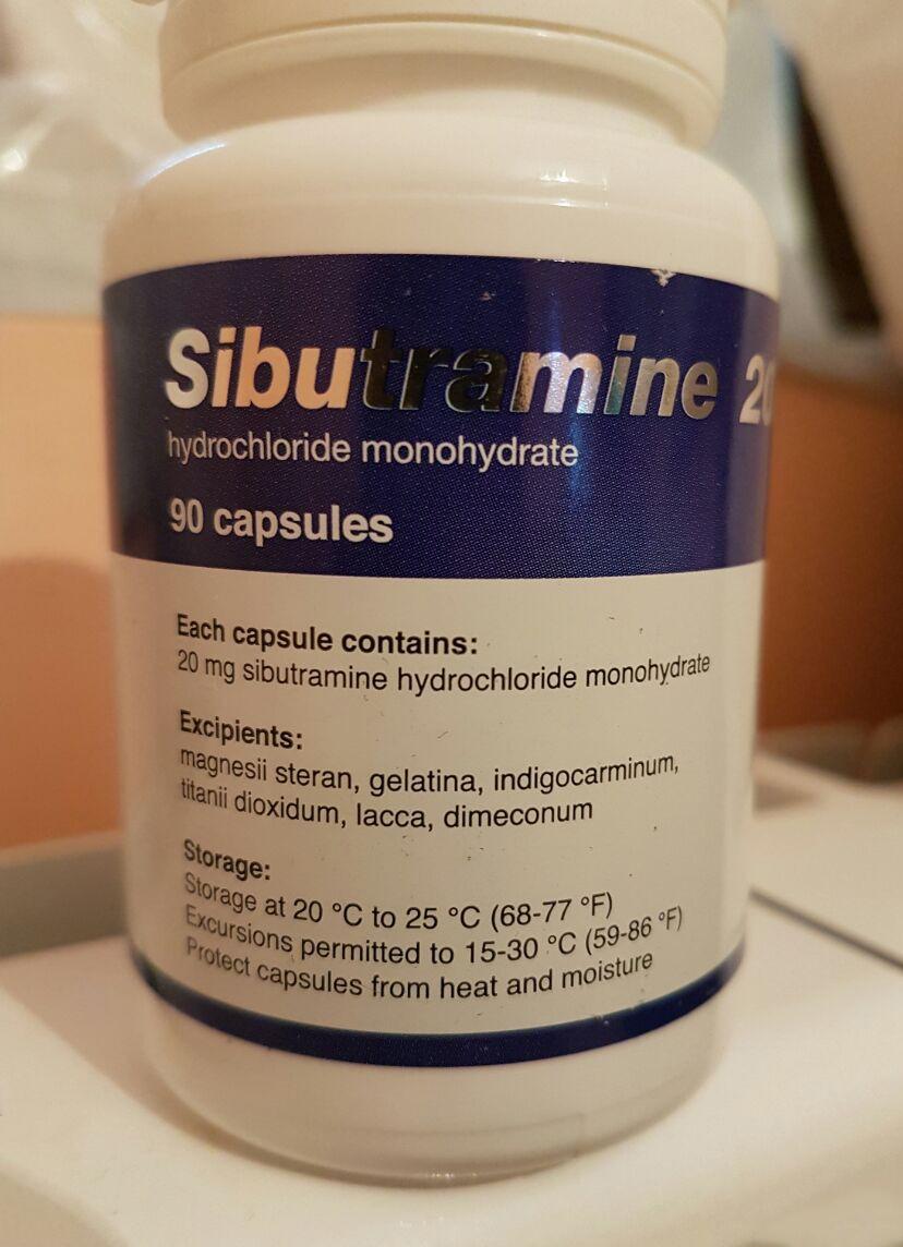 Generico Reductil (Meridia, Ectivia) 20 mg - packing 90 pills