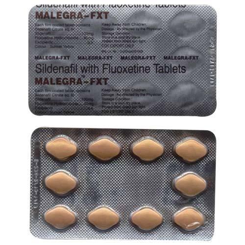 Малегра FXT (Силденафил+Флуоксетин) 100/40 мг