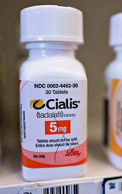 Cialis 5 mg Brand Lilly - bottle of 10 pills D