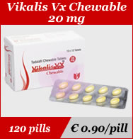 Vikalis vx Chewable 20mg